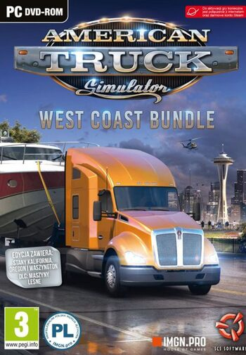 American Truck Simulator West Coast Bundle Steam Key EUROPE