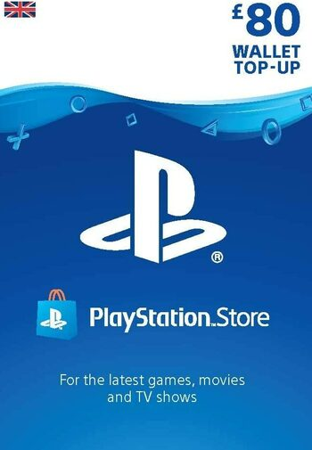 PlayStation Network Card 80 GBP (UK) PSN Key UNITED KINGDOM
