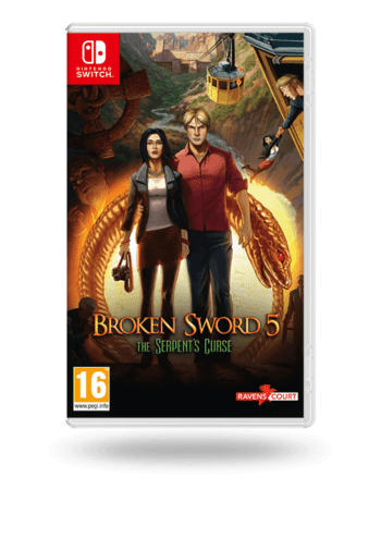 Broken Sword 5 - the Serpent's Curse (Broken Sword 5: La Maldición De La Serpiente) Nintendo Switch