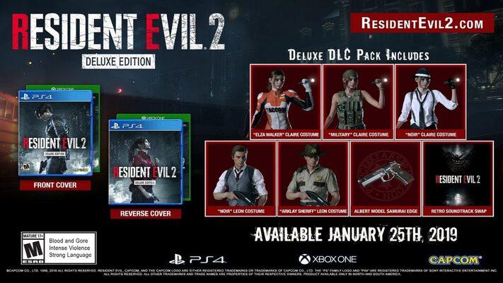 Resident Evil 2 / Biohazard RE:2 (Deluxe Edition) Steam Key GLOBAL