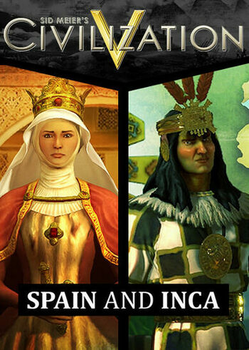 Sid Meier's Civilization V - Spain and Inca Double Civilization Pack (DLC) Steam Key GLOBAL