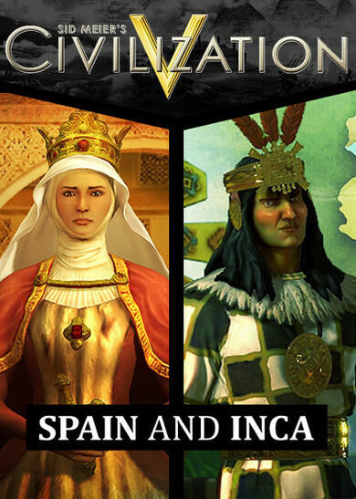 Sid Meier's Civilization V - Spain and Inca Double Civilization Pack (DLC) Steam Key GLOBAL