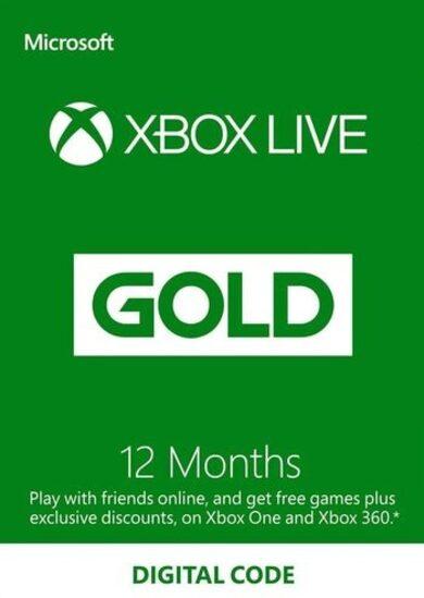 Xbox Live Gold 12 months Xbox Live Key ARGENTINA