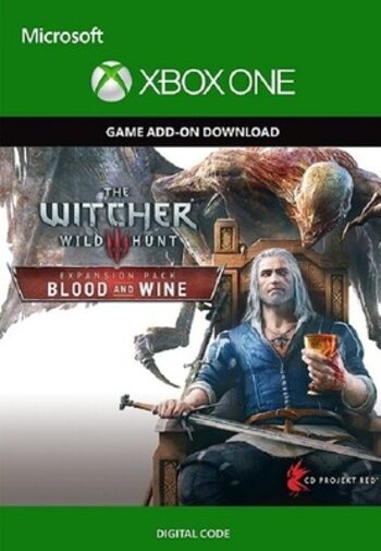 The Witcher 3: Wild Hunt Blood and Wine (DLC) XBOX LIVE Key UNITED STATES