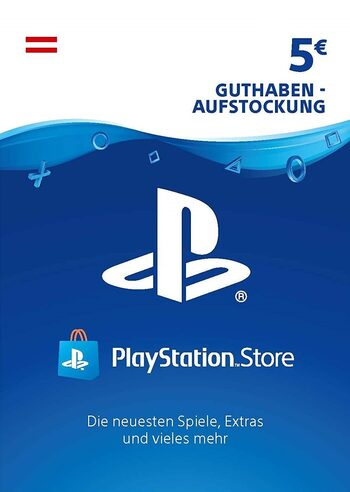 PlayStation Network Card 5 EUR (AT) PSN Key AUSTRIA