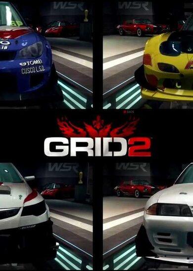 GRID 2 - 4 Pack Bundle (DLC) Steam Key GLOBAL