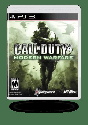 Call of Duty 4: Modern Warfare PlayStation 3