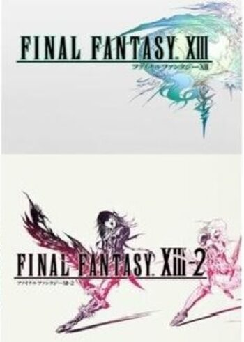 Final Fantasy XIII & XIII-2 Steam Key GLOBAL