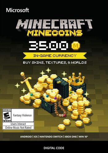 Minecraft: Minecoins Pack: 3500 Coins Key GLOBAL