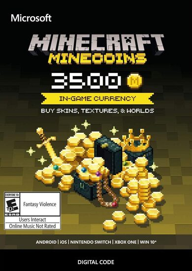 Minecraft: Minecoins Pack: 3500 Coins Key EUROPE