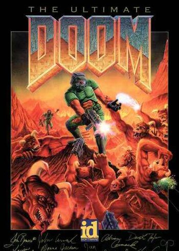 Ultimate DOOM Steam Key EUROPE
