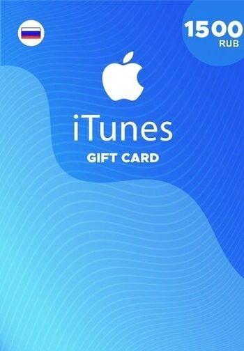Apple iTunes Gift Card 1500 RUB iTunes Key RUSSIA