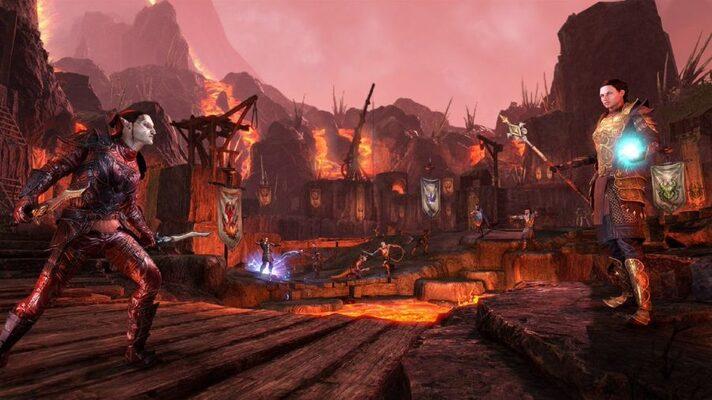 The Elder Scrolls Online: Tamriel Unlimited + Morrowind Upgrade Official  Website Key GLOBAL