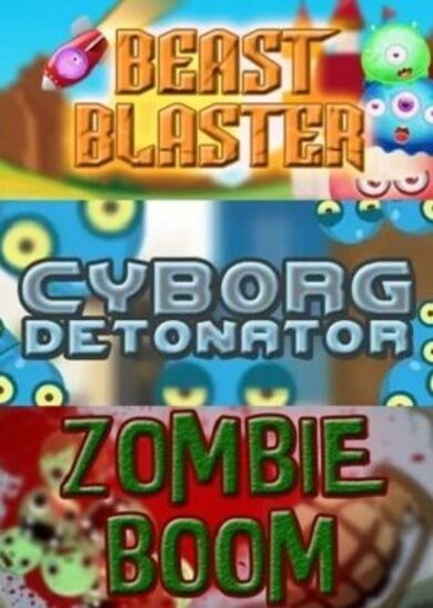 Cyborg Detonator + Zombie Boom + Beast Blaster Steam Key GLOBAL