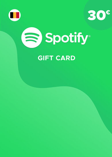Spotify Gift Card 30 EUR Key BELGIUM