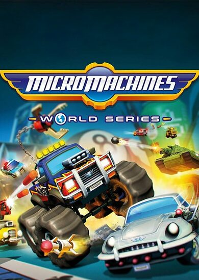 Micro Machines: World Series Steam Key GLOBAL фото