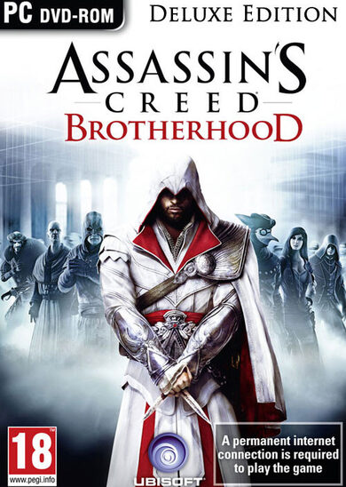Assassin's Creed: Brotherhood (Deluxe Edition) Uplay Key GLOBAL