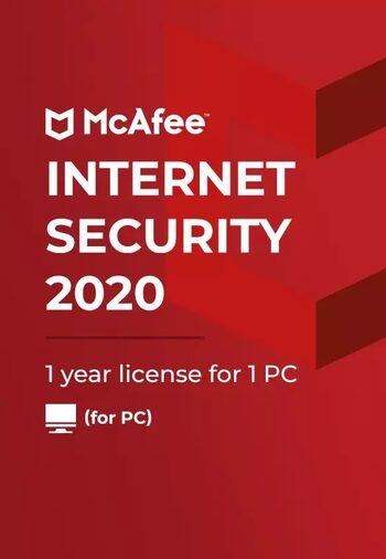 McAfee Internet Security 2020 1 Device 1 Year Key GLOBAL