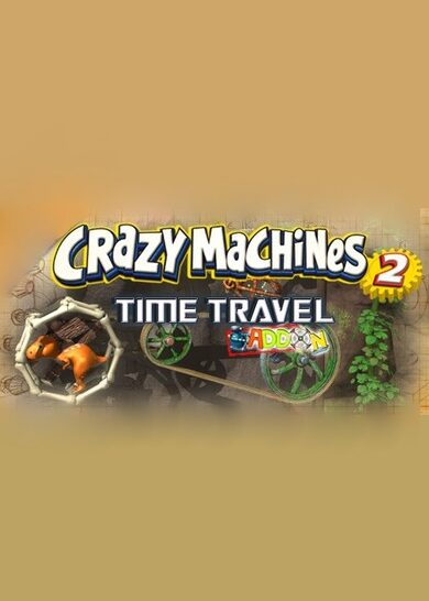 Crazy Machines 2: Time Travel Add-On (DLC) Steam Key GLOBAL