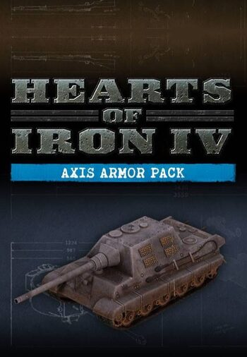 Hearts of Iron IV: Axis Armor Pack (DLC) Steam Key GLOBAL