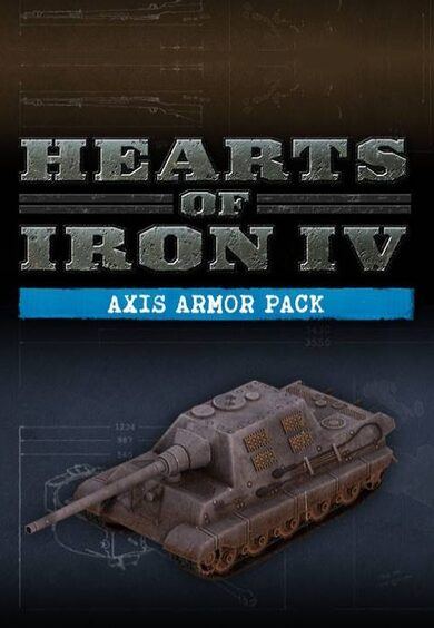 Hearts of Iron IV: Axis Armor Pack (DLC) Steam Key EUROPE