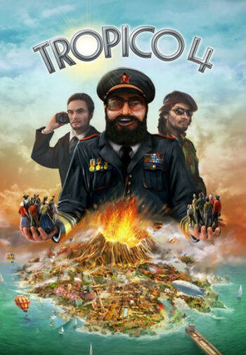 Tropico 4: Apocalypse (DLC) Steam Key GLOBAL