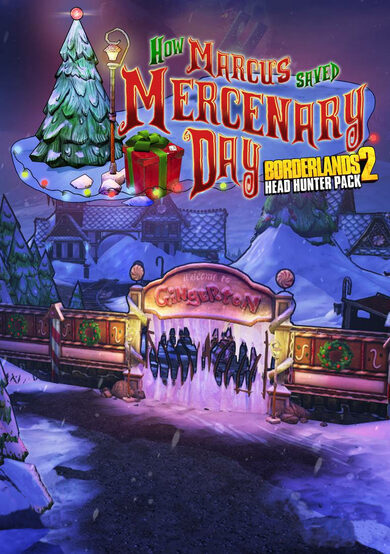Borderlands 2 - Headhunter 3: Mercenary Day (DLC) Steam Key EUROPE