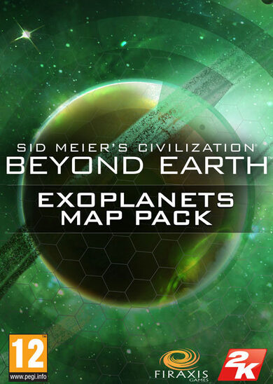Sid Meier's Civilization: Beyond Earth - Exoplanets Map Pack (DLC) Steam Key GLOBAL