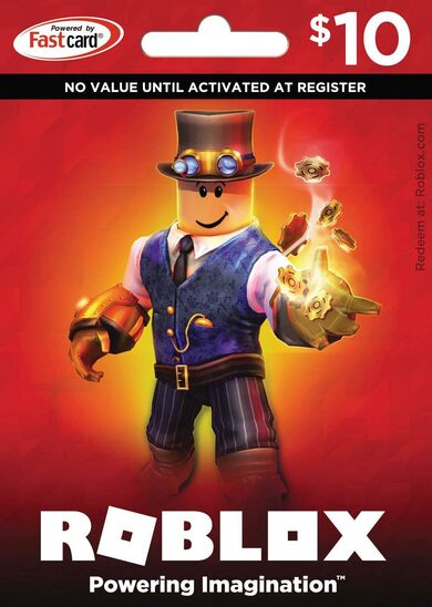 Roblox Card 10 USD - 800 Robux Key GLOBAL