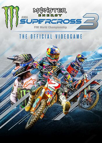 Monster Energy Supercross : The Official Videogame 3 clé Steam EUROPE
