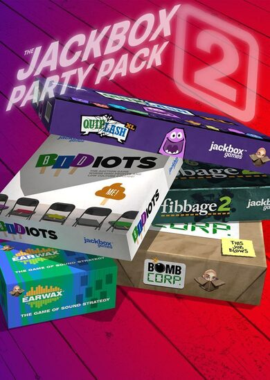 The Jackbox Party Pack 2 Steam Key GLOBAL