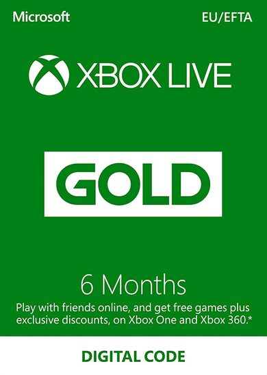 cheap Xbox Live Gold 6 months Xbox Live Key EUROPE
