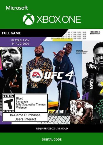 EA SPORTS UFC 4 (Xbox One) Xbox Live Key GLOBAL