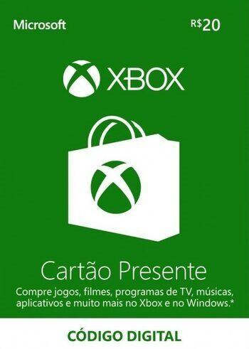Xbox Live Gift Card 20 BRL Xbox Live Key BRAZIL