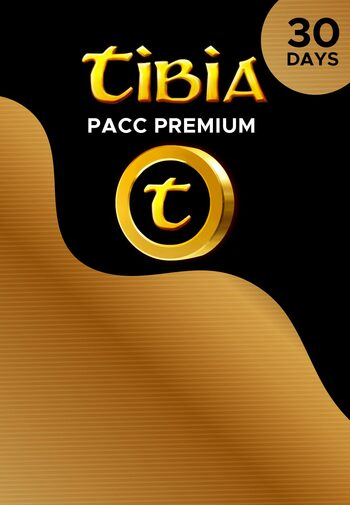 Tibia PACC Premium Time 30 Days Key GLOBAL