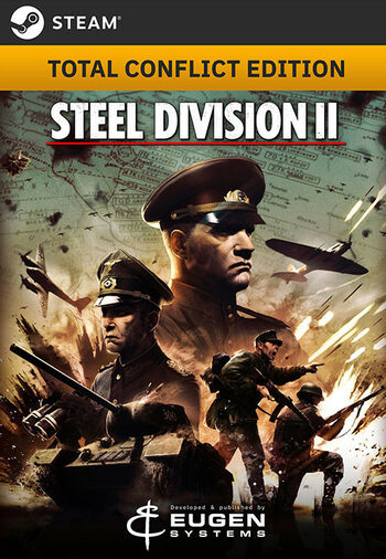 Steel Division 2 (Total Conflict Edition) Steam Key EUROPE