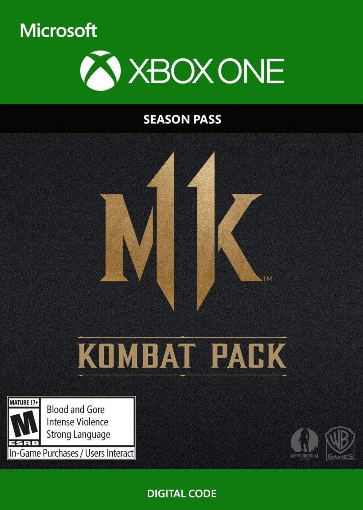 Buy Mortal Kombat 11 Kombat Pack Dlc Xbox One Xbox Live Key