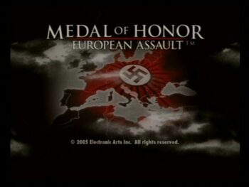 Get Medal of Honor: European Assault PlayStation 2