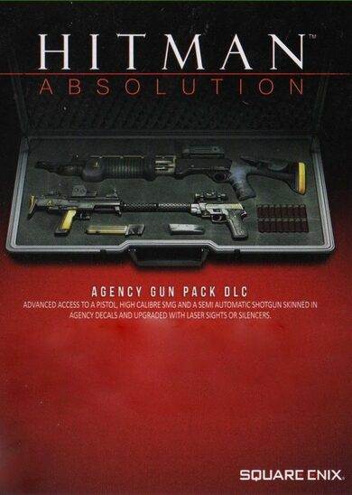 Hitman Absolution - Agency Gun Pack (DLC) Steam Key GLOBAL