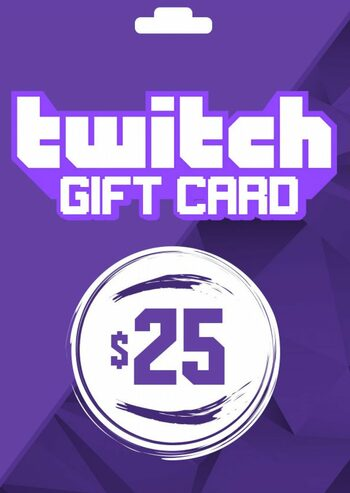 Twitch Gift Card 25 USD Key UNITED STATES
