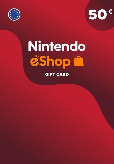 Nintendo eShop Card 50 EUR Key EUROPE
