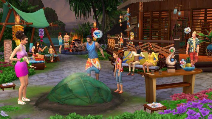 The Sims 4: Island Living (DLC) Origin Key GLOBAL