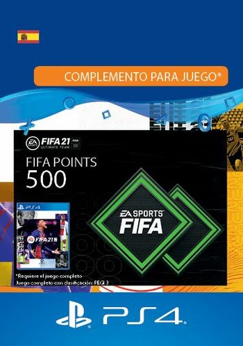FIFA 21 - 500 FUT Points (PS4) PSN Key SPAIN