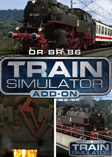 Train Simulator - DR BR 86 Loco Add-On (DLC) Steam Key EUROPE