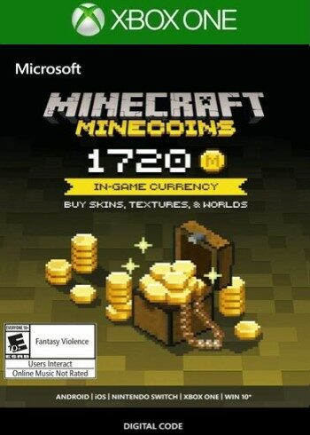 Minecraft: Minecoins Pack: 1720 Coins (Xbox One) Xbox Live Key UNITED STATES