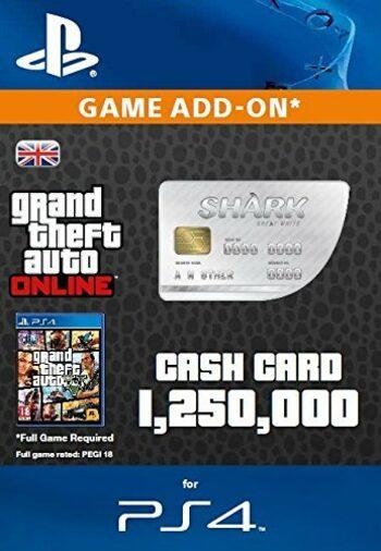 Grand Theft Auto Online: Great White Shark Cash Card (PS4) PSN Key UNITED KINGDOM