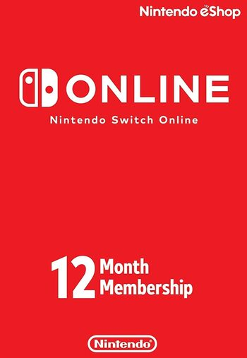 Nintendo Switch Online Membership - 12 Months eShop Key UNITED STATES