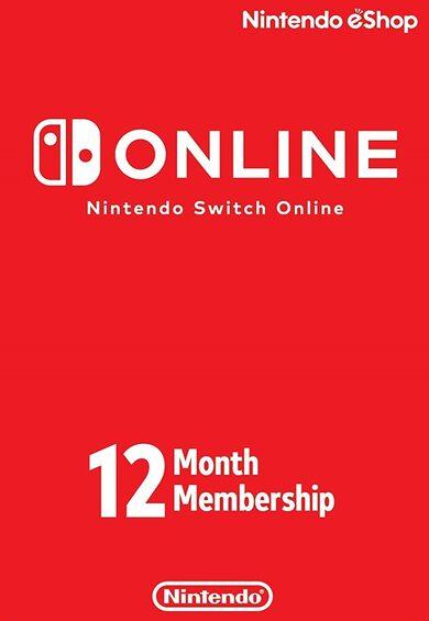 Nintendo Switch Online Membership - 12 Months eShop Código Estados Unidos