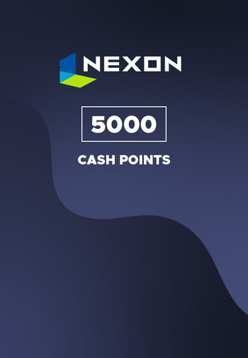 Nexon 5000 Cash Points Prepaid Key EUROPE
