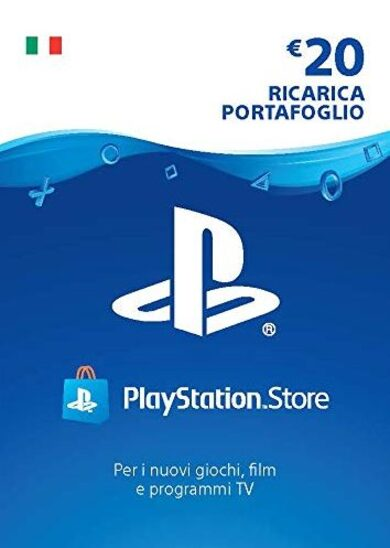 PlayStation Network Card 20 EUR (IT) PSN Key ITALY